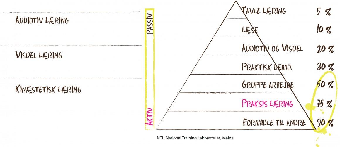 Fig 1. Læringspyramide